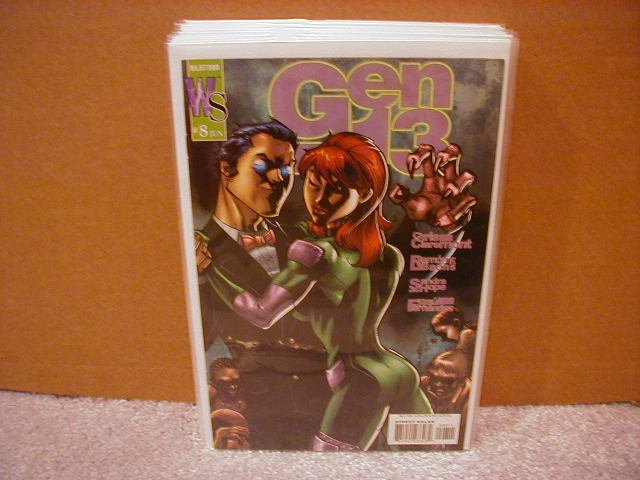 GEN 13 #8 VF-  2003 WILDSTORM SERIES