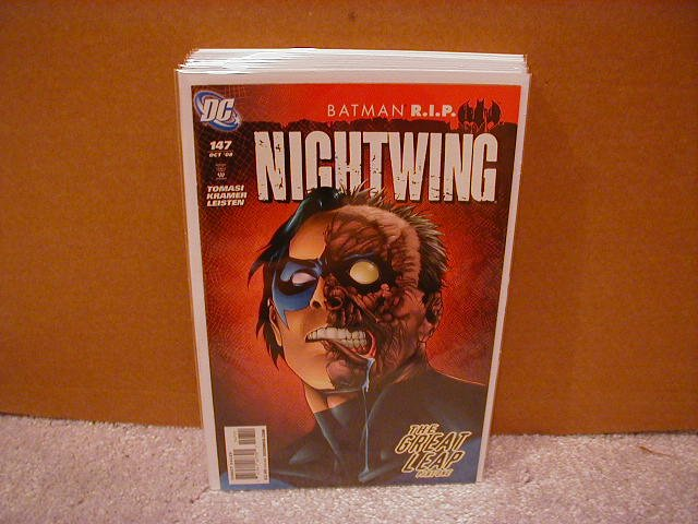 NIGHTWING #147 NM  R.I.P BATMAN