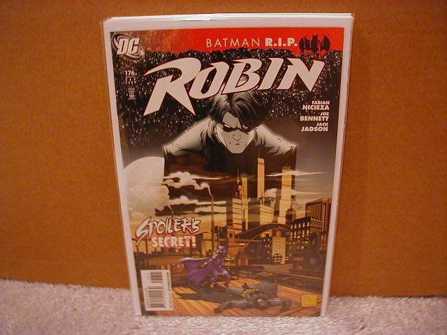 ROBIN #176 NM (2008)  R.I.P BATMAN