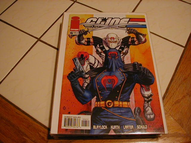 G.I. JOE #6  VF/NM  *IMAGE*