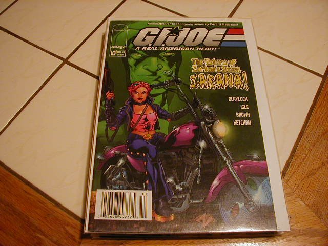 G.I. JOE #10 VF/NM *IMAGE*