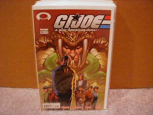 G.I. JOE #22 VF/NM  *IMAGE*