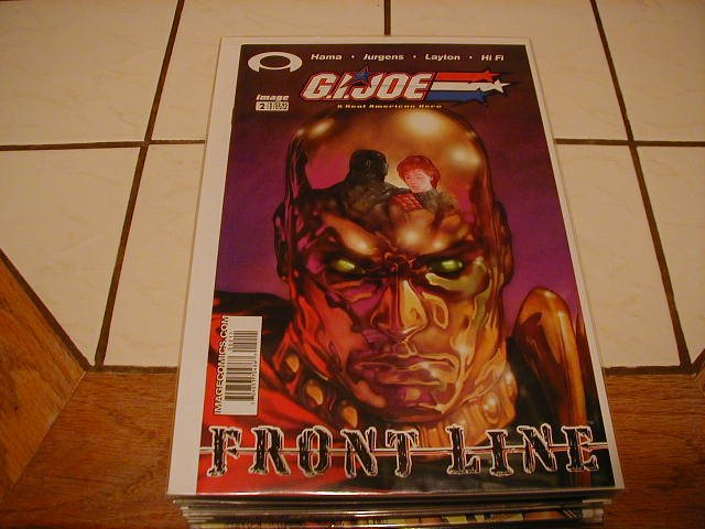 G.I. JOE FRONT LINE #2 VF/NM *IMAGE*