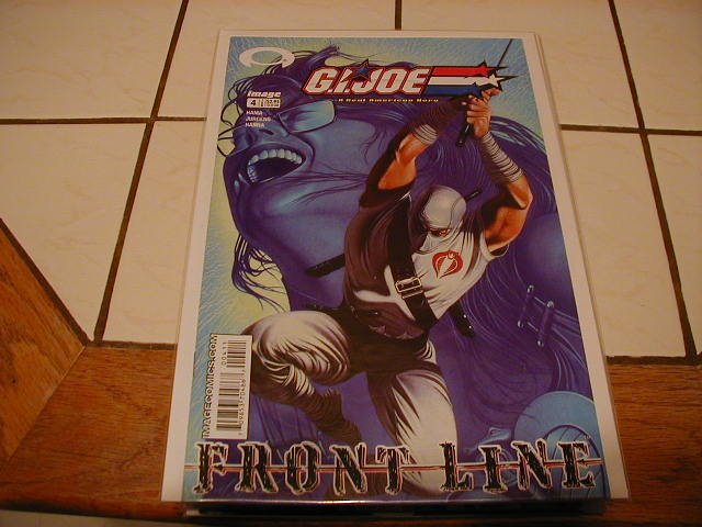 G.I. JOE FRONT LINE #4 VF/NM *IMAGE*