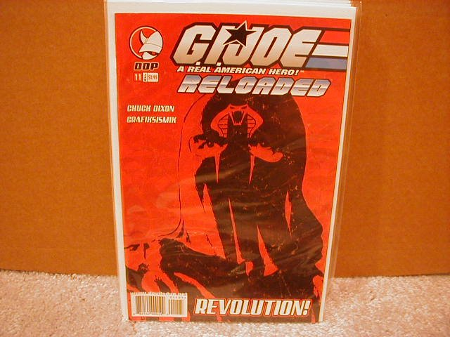 G.I. JOE RELOADED #11  VF/NM  *DDP*