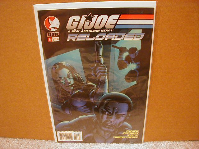G.I. JOE RELOADED #6 VF/NM  *DDP*