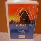 WOLVERINE #47 NM (2007)  **CIVIL WAR**