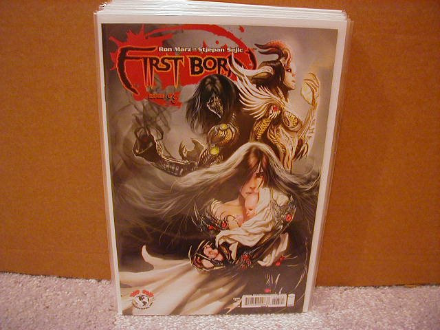 "FIRST BORN #3 ""B"" COVER NM WITCHBLADE/DARKNESS"
