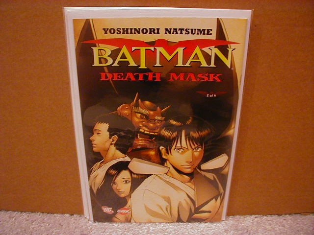 BATMAN DEATH MASK #2 NM(2008)