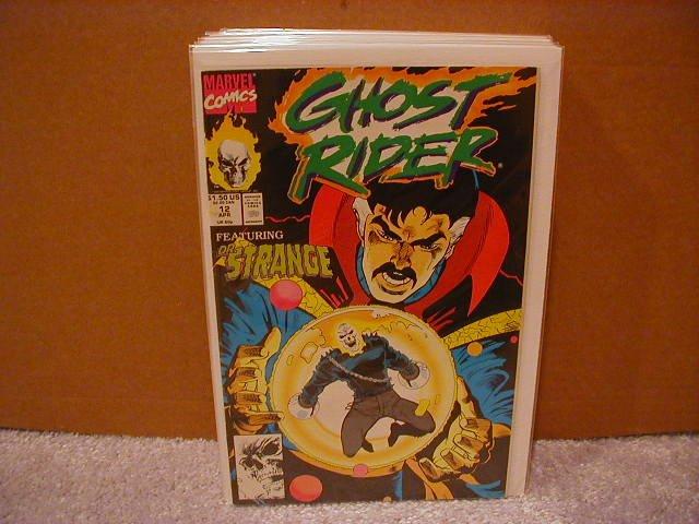 GHOST RIDER #12 FN (1990) DOCTOR STRANGE