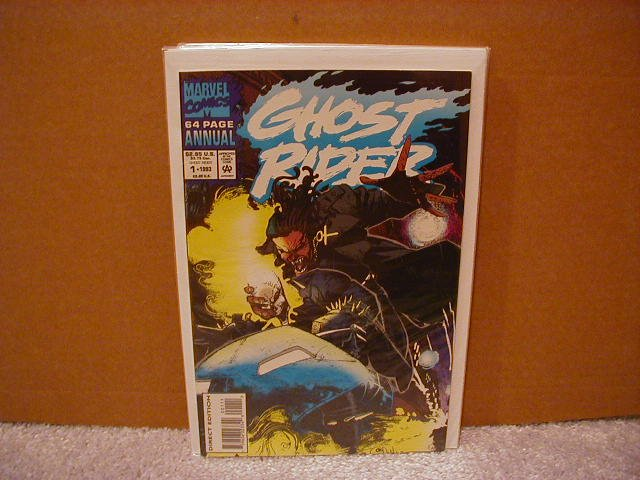 GHOST RIDER ANNUAL #1 VF/NM (1990)
