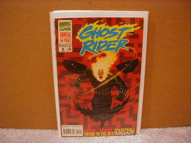 GHOST RIDER ANNUAL #2 VF/NM (1990)