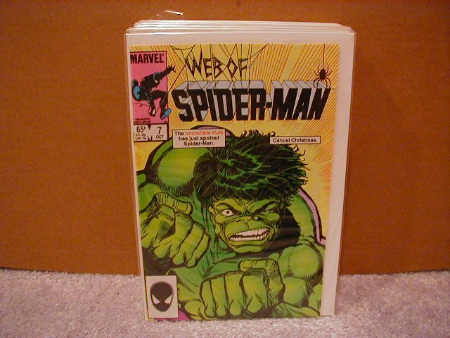 WEB OF SPIDER-MAN #7 VF/NM