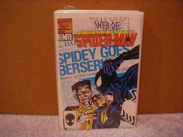 WEB OF SPIDER-MAN #13 VF/NM