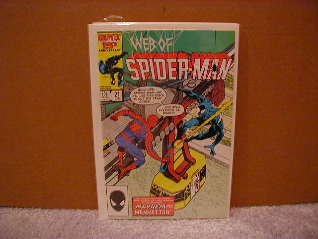 WEB OF SPIDER-MAN #21 VF/NM