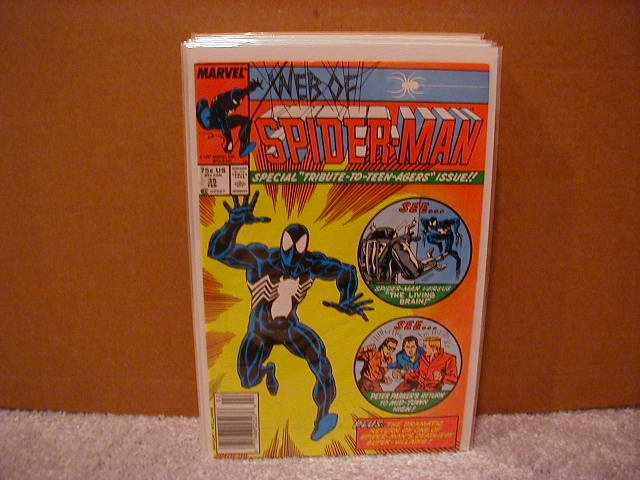 WEB OF SPIDER-MAN #35 VF/NM