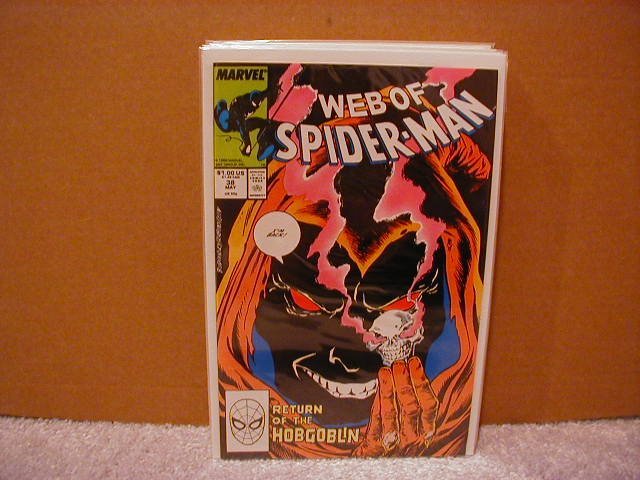WEB OF SPIDER-MAN #38 VF/NM  *HOBGOBLIN*