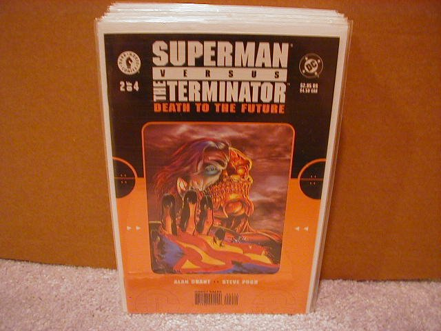 SUPERMAN VERSUS THE TERMINATOR �DEATH TO THE FUTURE� #2 VF/NM