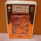 "SUPERMAN VERSUS THE TERMINATOR ""DEATH TO THE FUTURE"" #2 VF/NM"