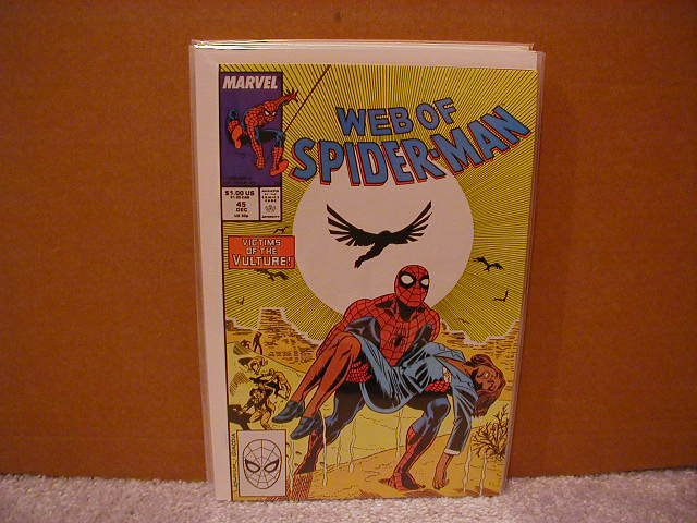 WEB OF SPIDER-MAN #45 VF/NM
