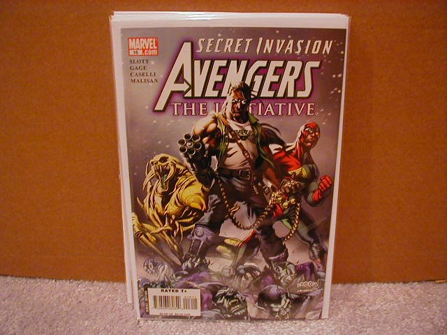AVENGERS THE INITIATIVE #16 NM (2008)  *SECRET INVASION*