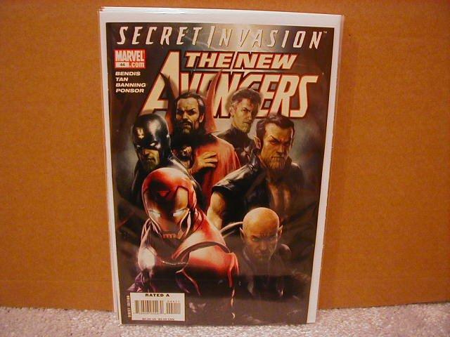 NEW AVENGERS #44 NM (2008) *SECRET INVASION*