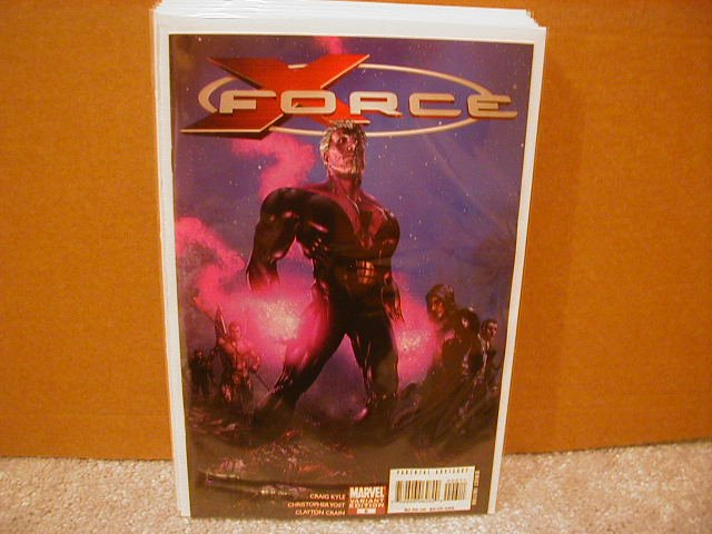 X-FORCE #6 NM (2008) 1ST PRINT VARIANT