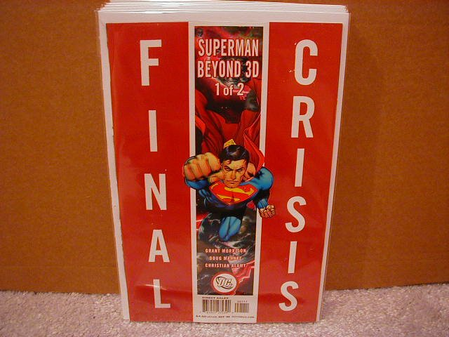 FINAL CRISIS SUPERMAN BEYOND 3D #1 NM(2008)