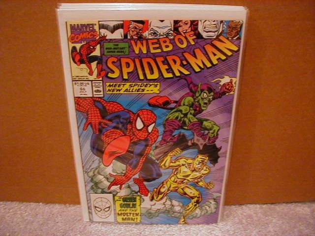 WEB OF SPIDER-MAN #66 VF