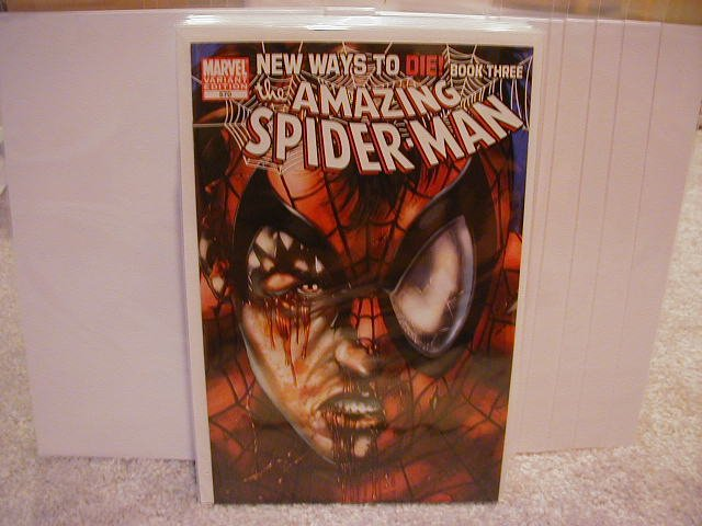 AMAZING SPIDER-MAN #570 NM (2008)