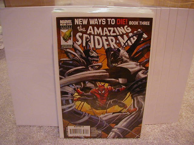 "AMAZING SPIDER-MAN #570 NM (2008) ""B"" COVER"