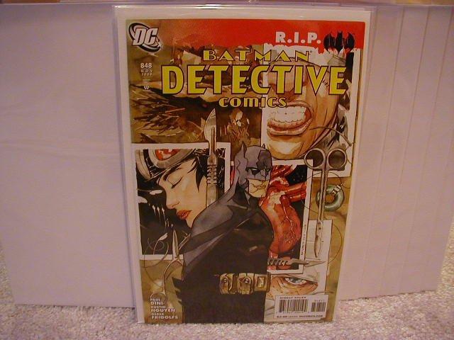 DETECTIVE COMICS #848 NM (2008) R.I.P.