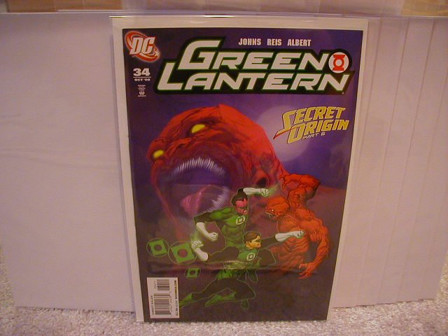 GREEN LANTERN #34 NM (2008)