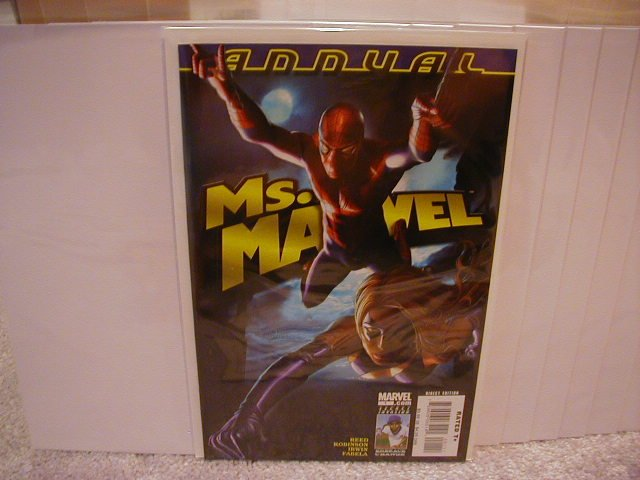 MS. MARVEL ANNUAL #1 NM (2008)