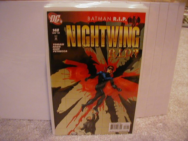 NIGHTWING #148 NM (2008) R.I.P.