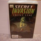 SECRET INVASION FRONT LINE #3 NM (2008)