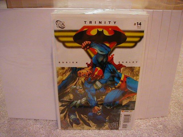 TRINITY #14 NM (2008) SUPERMAN, BATMAN, WONDERWOMAN