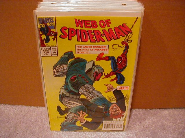 WEB OF SPIDER-MAN #114 VF/NM