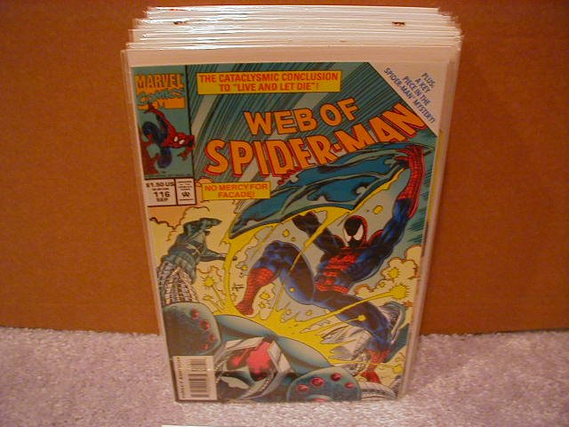 WEB OF SPIDER-MAN #116 VF/NM