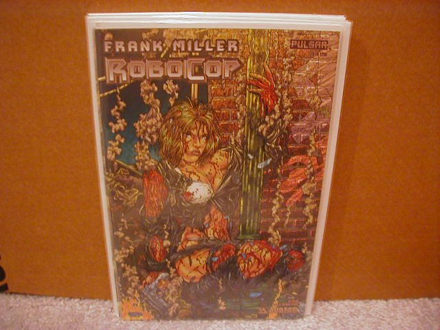 ROBOCOP #4 VF/NM LIMITED TO 1250 COPIES FRANK MILLER  *AVATAR*