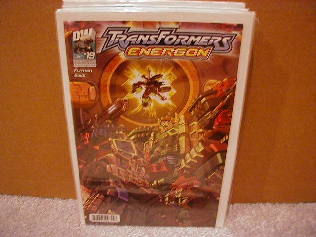 TRANSFORMERS ENERGON #19 VF/NM   *DW*