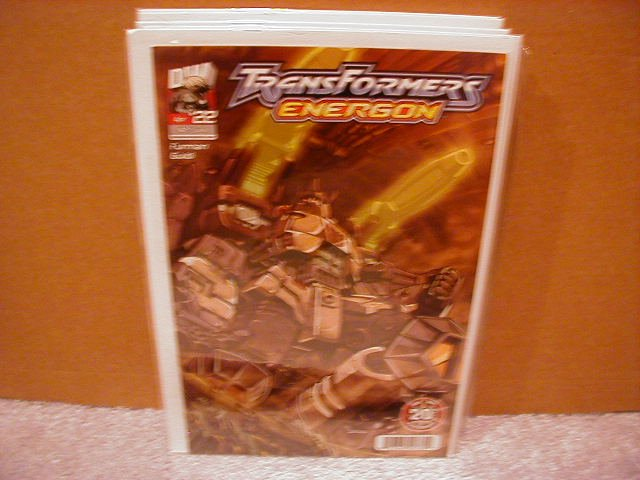 TRANSFORMERS ENERGON #22 VF/NM   *DW*
