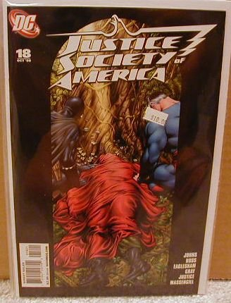 JUSTICE SOCIETY OF AMERICA #18 NM VARIANT