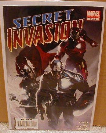 SECRET INVASION #6 NM (2008)