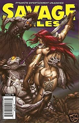 SAVAGE TALES #9 NM (2008)