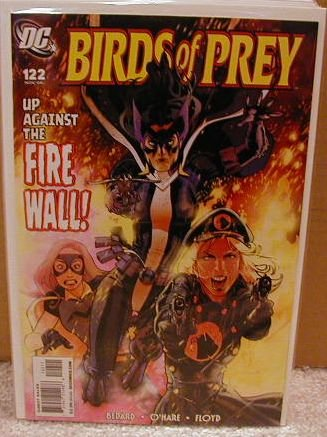 "BIRDS OF PREY #122 NM (2008) ""JOKER"""