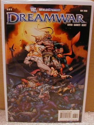 DREAMWAR #6 NM (2008)