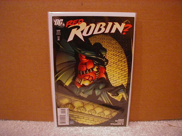 ROBIN #177 NM (2008)  RED ROBIN