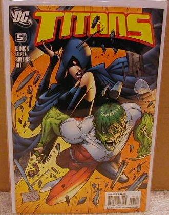 TITANS #5 NM (2008)