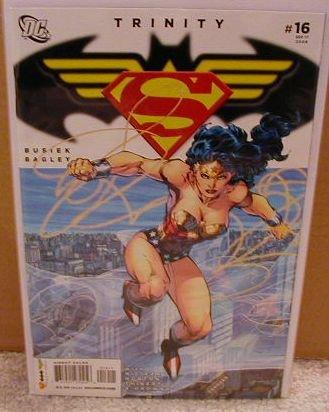 TRINITY #16 NM (2008) SUPERMAN, BATMAN, WONDERWOMAN